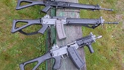 BANNED in the USA and Canada, Swiss Arms rifles!! The real Sig 556s