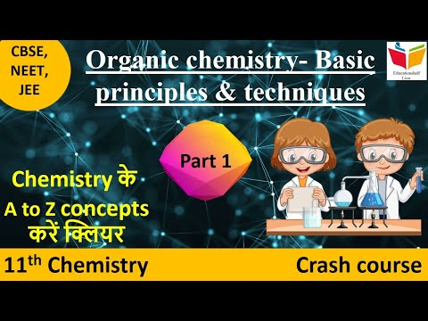 11th NCERT Chemistry- Unit 12- Organic chemistry-Basic principles & techniques-I (NEET,AIIMS,JIPMER)
