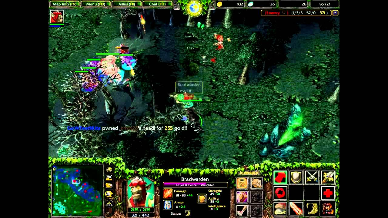 dota warcraft 3 youtube