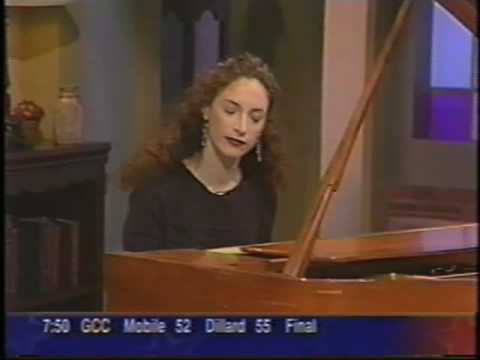 Robin Spielberg on TV in New Orleans