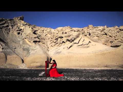 άρπα - Harp'Eri - Frozen Lava - Παγωμένη λάβα - harp music - Santorini - Greece