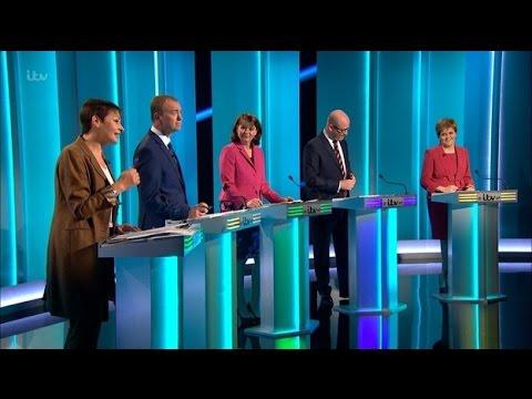 Party leaders go head-to-head in ITV Debate