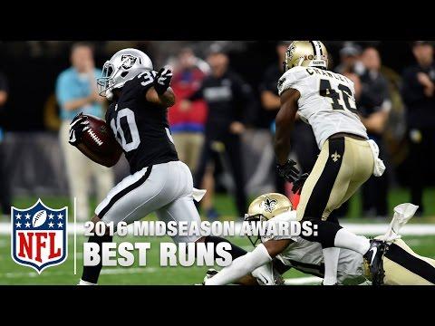 Top 10 Runs | 2016 Midseason Awards | NFL