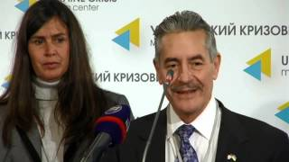 (English) Ukrainian Congress Committee of America. Ukraine Crisis Media Center, 24th of October 2014