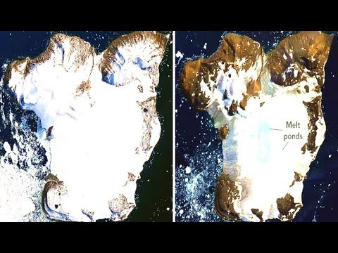 These New NASA Photographs Have Revealed That Something Massive Is Happening In Antarctica