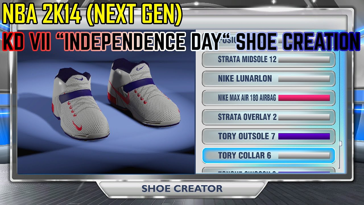 NBA 2K14 Next Gen - KD VII