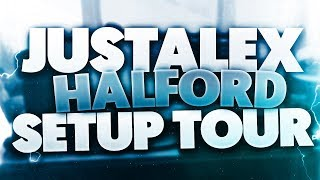 JustAlexHalford Setup Tour (2018) Video