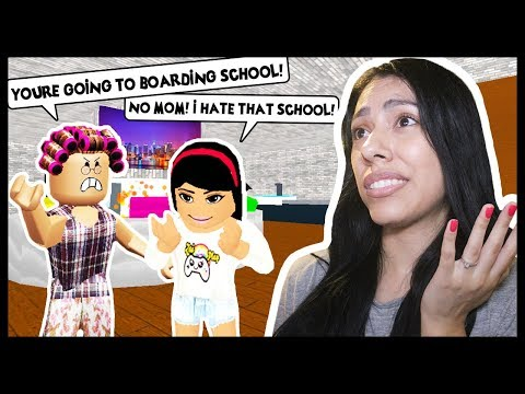 MY MOM KICKED ME OUT OF THE HOUSE & SENT ME TO BOARDING SCHOOL! - Roblox Roleplay