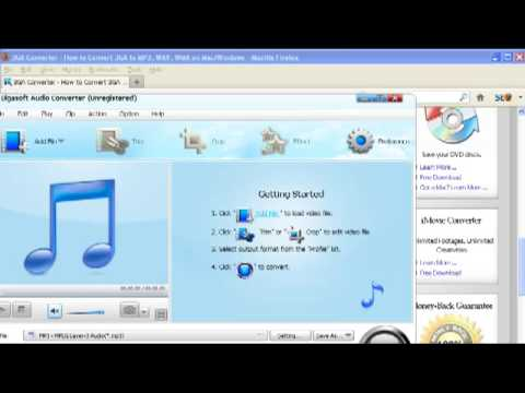 3GA To WAV, MP3 - How To Convert Samsung Galaxy S4/S3/S2/S, Android, Nokia Recorded 3GA Audio Files