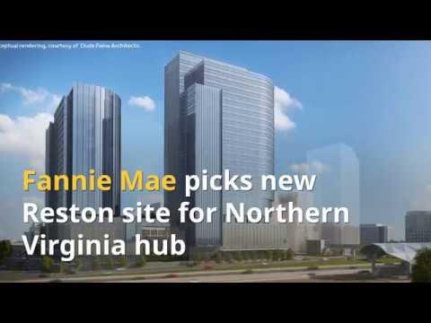 Fannie Mae picks new Reston site for Northern Virginia hub