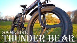 Come una MOTO ma è una Bicicletta Elettrica! Si chiama Samebike Thunder Bear