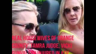 The Real Housewives of Orange County. Vicki and Tamra Were Take To The Hospital April 2/2016
