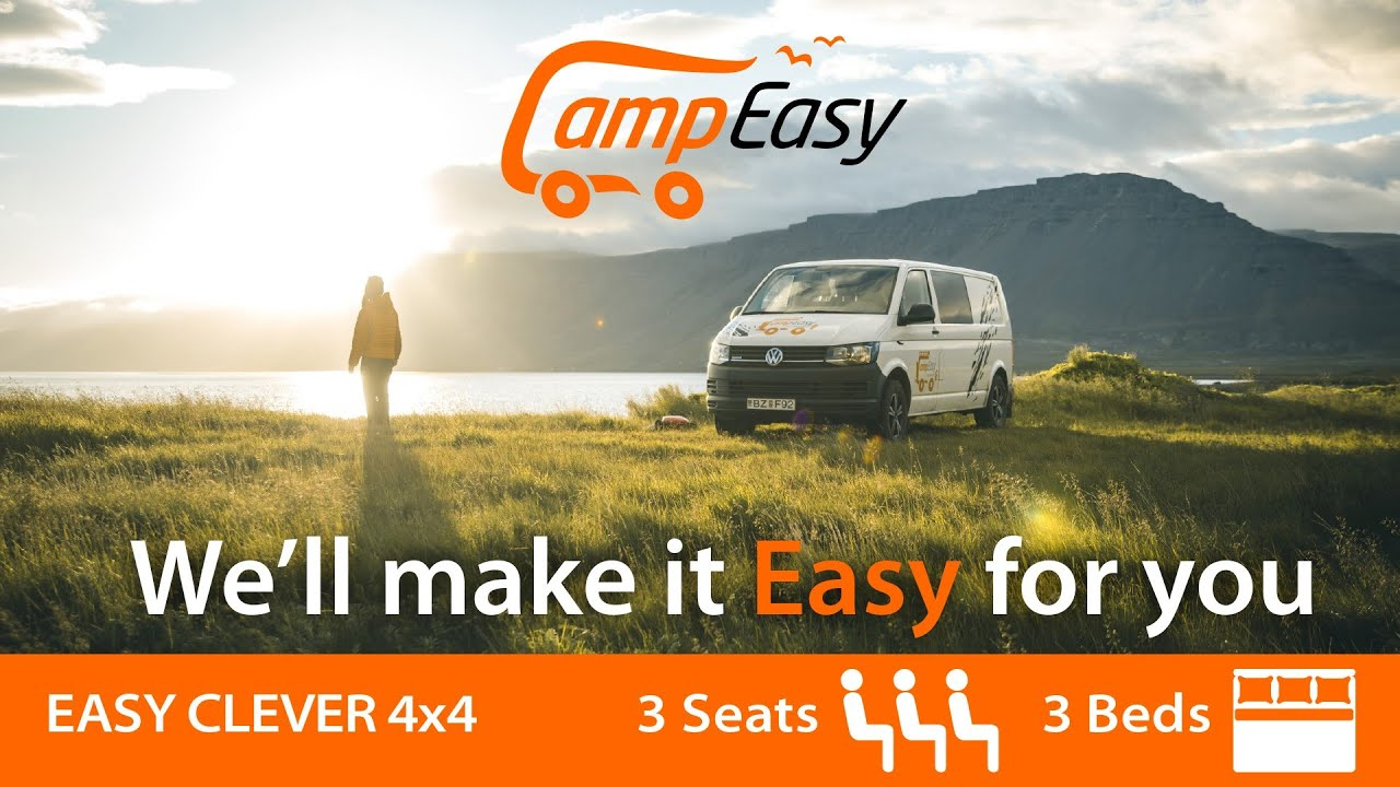 Camper Rental in Iceland - Rent a Campervan - CampEasy