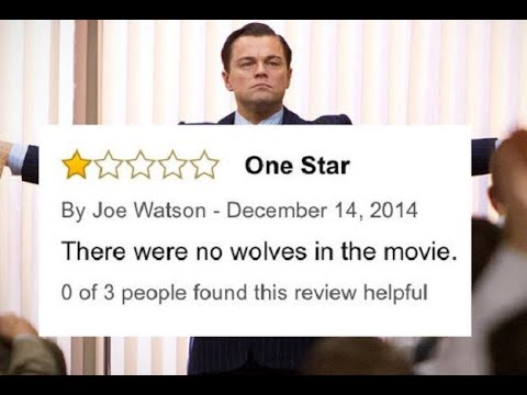 Funny Movie Reviews - The Worst Amazon Movie Reviews