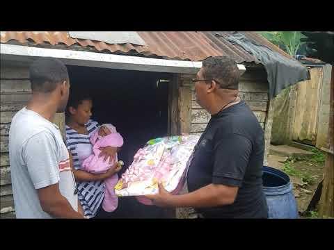 Fundacion Ramona Polanco, realiza donación de canastillas