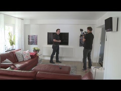 Das Wohnzimmer 2.0 mit versteckter Technik