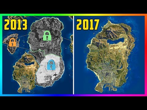 Rockstar's Original Plan For GTA Online Back In 2013 VS 2017 - Major PAID Expansions & MORE! (GTA 5)