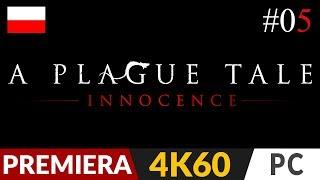 A Plague Tale: Innocence PL  #5 (odc.5)  V - Czas kruków   Gameplay po polsku 4K Ultra