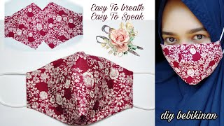 New Design Simple Fabric Face Mask Face mask Sewing Tutorial diy face mask fabricfacemask