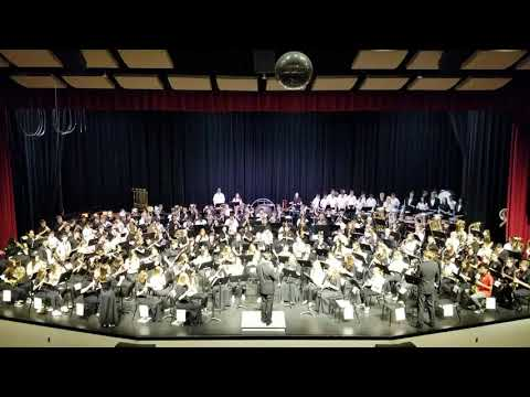 Henry Sibley Wind Ensemble performing Henry Sibley School Song arranged by Clayton Browne.