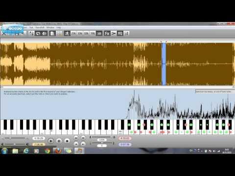 สุดยอดโปรแกรมแกะเพลง Transcribe!
