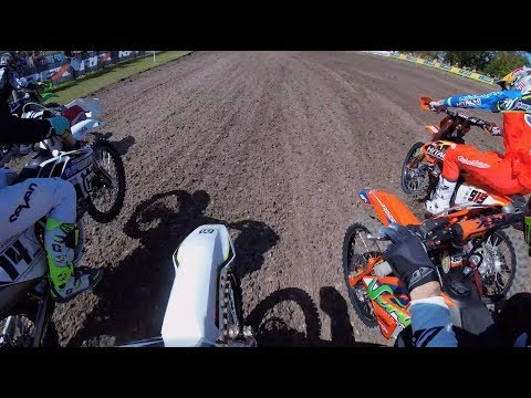 EPIC MOTOCROSS BATTLE : Tommy Searle and Elliott Banks Browne Battle for Moto win at Foxhills