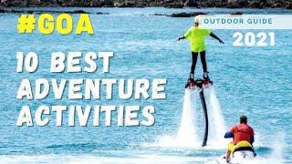 10 Adventure Activities in Goa