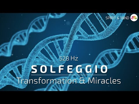 Solfeggio @528 Hz | 1H RELAXATION MUSIC – TRANSFORMATION & MIRACLES