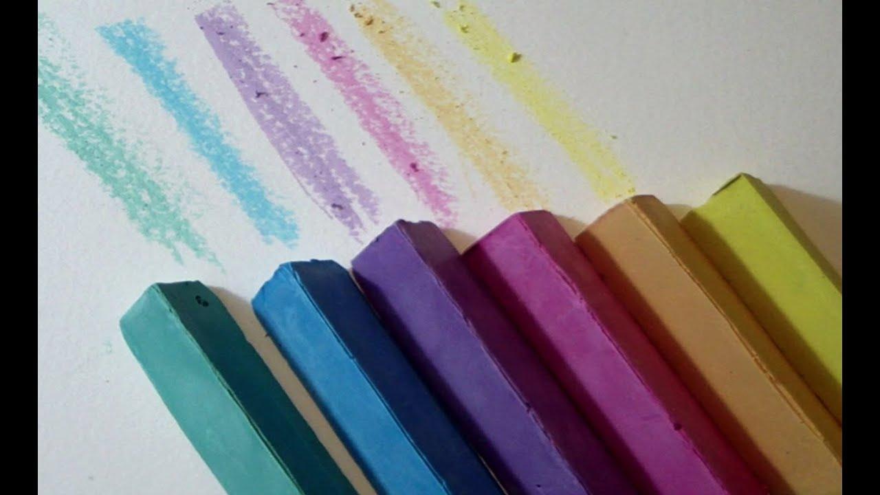 Manualidad como hacer TIZAS caseras para pintar al SUELO