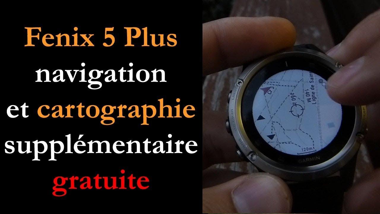 Carto Sur Une Montre Gps Garmin Installation Configuration Et Utilisation Montre Cardio Gps