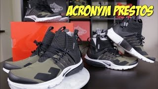 OUR THOUGHTS ON THE NIKE ACRONYM PRESTO!
