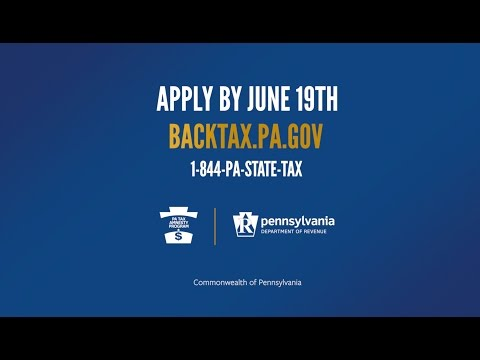 Pennsylvania Department of Revenue is offering Tax Amnesty