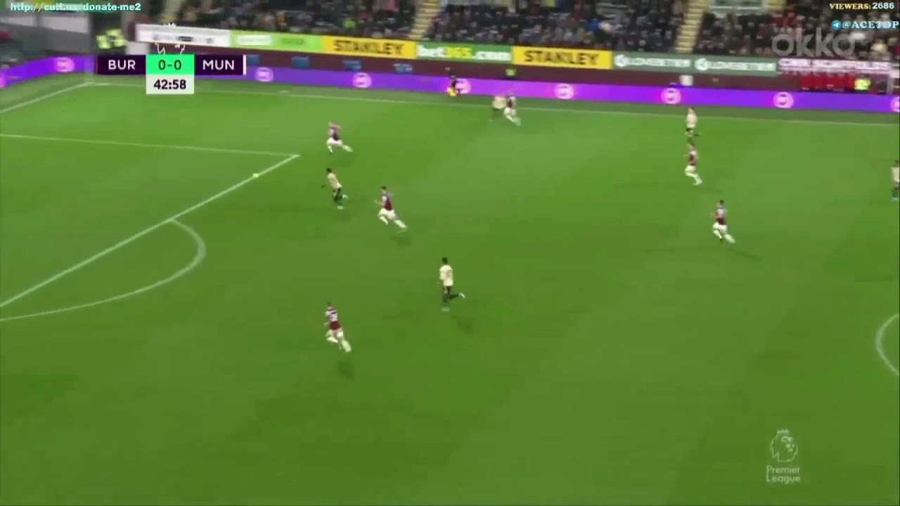 Burnley Vs Manchester United A. Martial Goal - YouTube