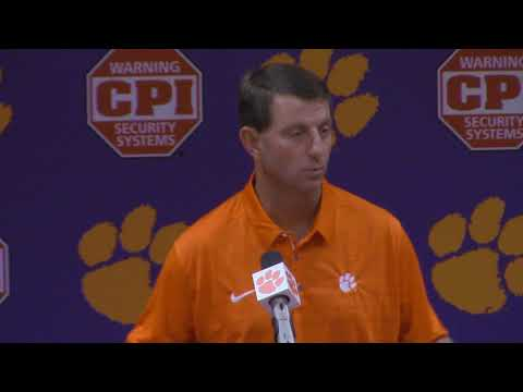 TigerNet: Swinney previews Boston College, pt. 1