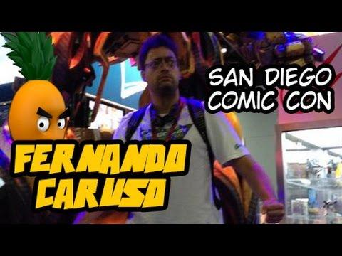 Diário de Bordo da San Diego Comic Con com Fernando Caruso: Dia 1