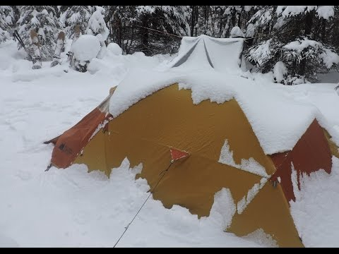 Winter Camping 3 Days in the Québec Wilderness
