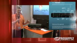 AVProSupply at CEDIA EXPO 2013 Featured Atlona Modular Matrix Switcher AT-PRO-MXM