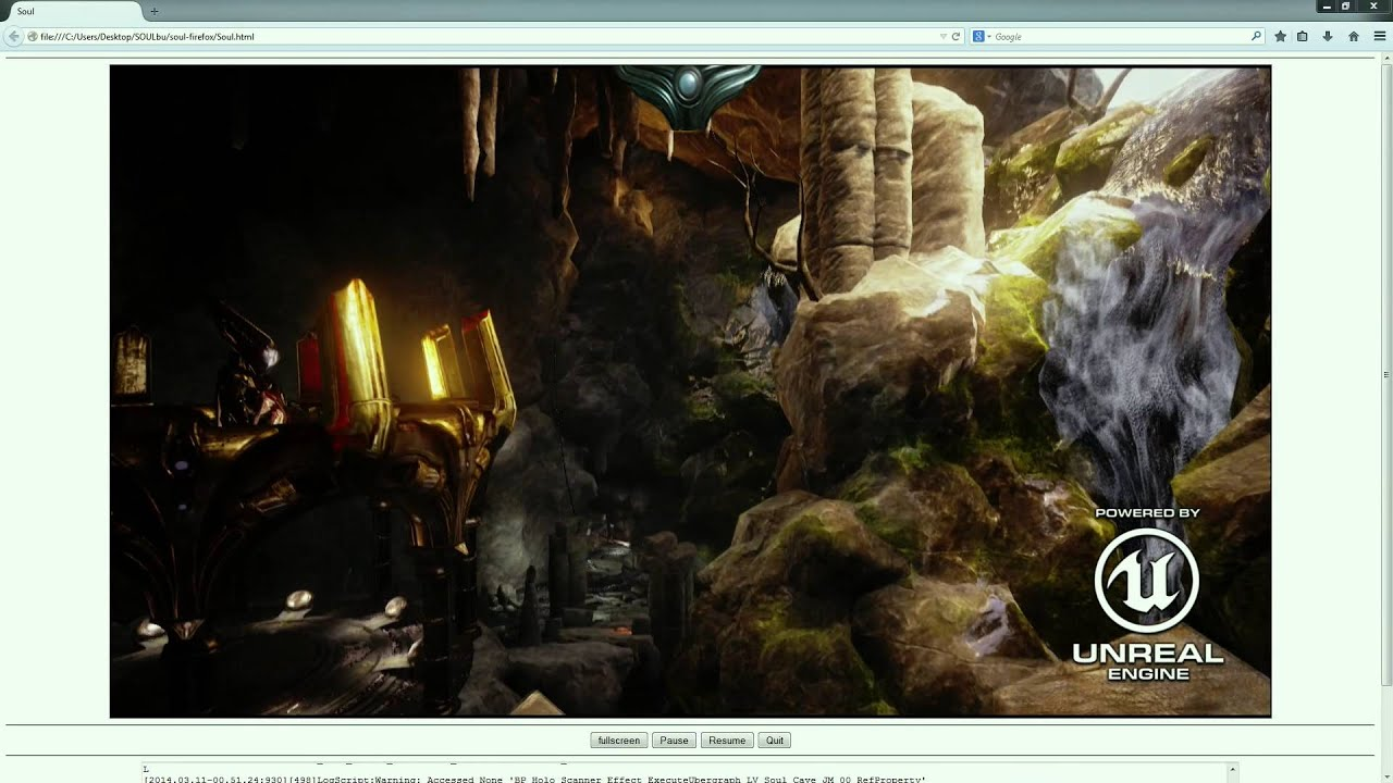 Mozilla and Epic Preview Unreal Engine 4 Running in Firefox