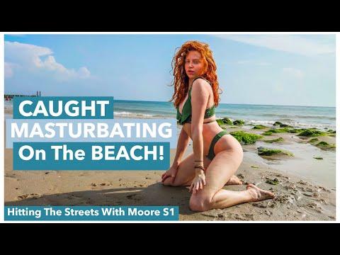 Girl Masturbating At Beach