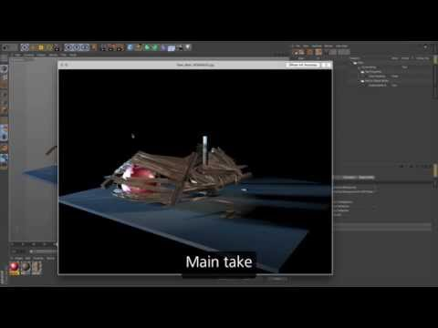 Cinema 4D R17 – Take System
