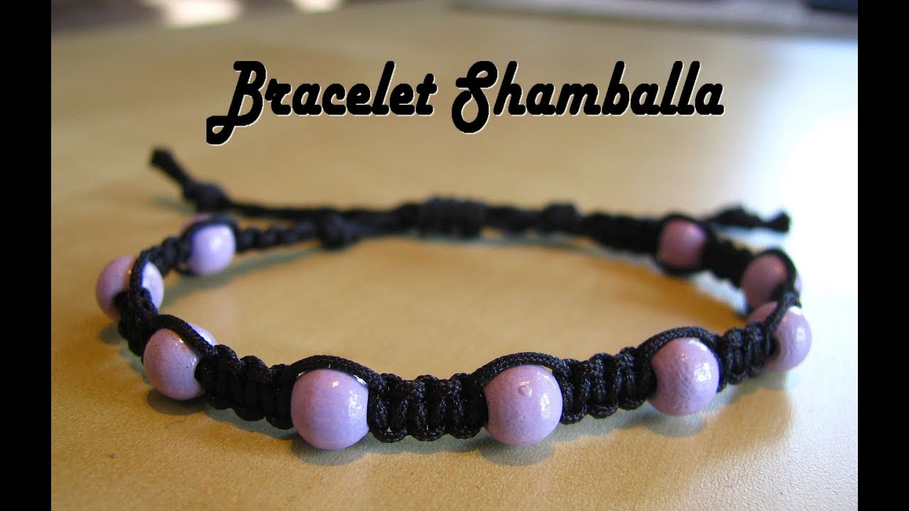 [TUTO] Easy Shamballa bracelet with beads (beginners)