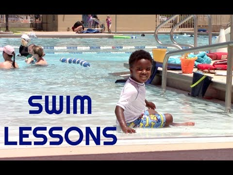 VLOG 75: FIRST WEEK OF SWIM LESSONS
