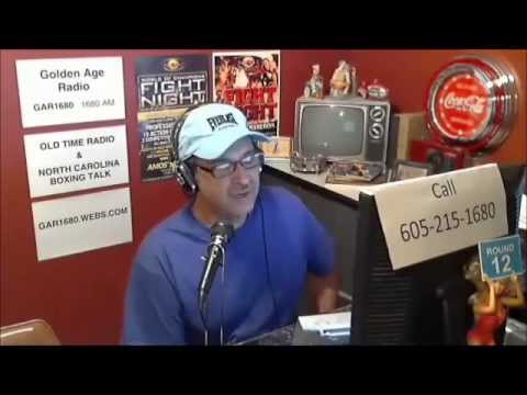 North Carolina BOXING TALK Radio Show - Monday, Sept. 2, 2013 - Podcast