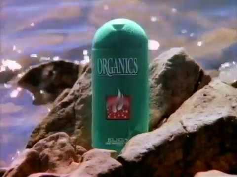 Organics Shampoo Werbung 1997