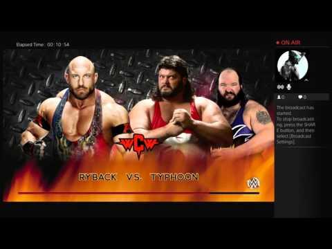 WWE 2k16 WCW SUPERSHOW