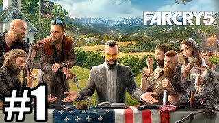 PRZERAŻAJĄCY KULT! - Let's Play Far Cry 5 #1 [PS4]