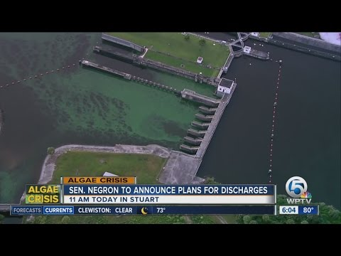 Negron to announce his plans to reduce flows from Lake Okeechobee