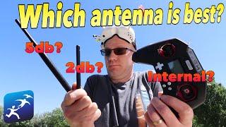 FrSky Taranis X-Lite External Antenna Test 2 – Real World Test