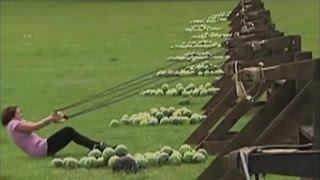 Watermelon to the face! Amazing Race