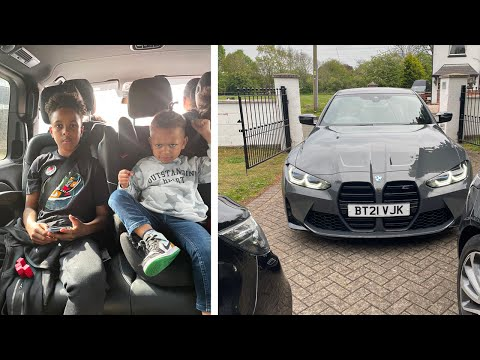 WE WERE SO LATE FOR THE SCHOOL RUN! + DADS NEW CAR?
